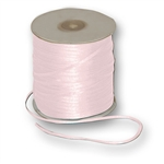 "Offray Dainty Double Face Satin Ribbon Light Pink, 1/8"" x 30 Yards"