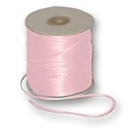 "Offray Dainty Double Face Satin Ribbon Pink, 1/8"" x 30 Yards"