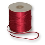 "Offray Dainty Double Face Satin Ribbon Scarlet Red - 1/8"" x 30 Yards"