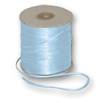 "Offray Dainty Double Face Satin Ribbon Light Blue - 1/8"" x 30 Yards"