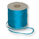 "Offray Dainty Double Face Satin Ribbon Turquoise - 1/8"" x 30 Yards"