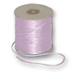 "Offray Dainty Double Face Satin Ribbon Light Orchid - 1/8"" x 30 Yards"