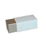 2 Truffle Candy Boxes in Champagne with White Sleeves