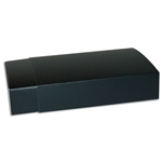12 Truffle Candy Boxes in Black with Black Sleeves
