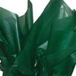 "Forest Green 2 Sided Waxed Tissue Paper - 24"" x 36"" Sheets"