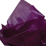 "Plum 2 Sided Waxed Tissue Paper - 24"" x 36"" Pink"