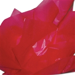 "Raspberry 2 Sided Waxed Tissue Paper - 24"" x 36"""