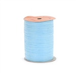 Light Blue Paper Raffia ribbon