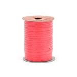 Red Paper Raffia Ribbon