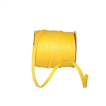 Yellow Paper Raffia Ribbon