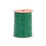 Emerald Green Paper Raffia Ribbon