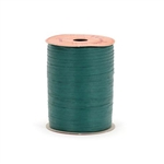 Hunter Green Paper Raffia Ribbon