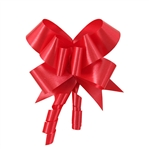 Lava Red Flora Satin Bow Magic Butterfly Bows