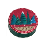 Christmas Trees Tins - Food Safe