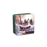 "6"" Square Heading Home Tin Boxes"