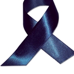 Double Face Satin Ribbon - Navy Blue
