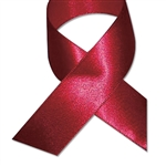 Double Face Satin Ribbon - Sherry Burgundy