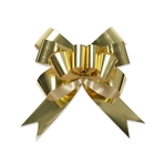 Gold Metallic Glitter Bow Magic Butterfly Bows