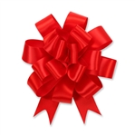 Red Satin Bow Magic Butterfly Bows