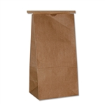 3 lbs. Kraft Coffee - Cookie Bags with tin ties