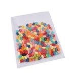 "Flat 7"" x 9"" Clear polypropylene candy bags"