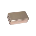 "4"" x 7"" Gold Tin Boxes"