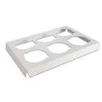 6 Cupcake Box Insert-6 Cupcake Holder