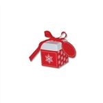 Small Eco Pop Boxes, Holiday Snowflake