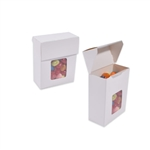 Small Foodie Flip Top Boxes White