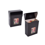 Small Foodie Flip Top Boxes Black