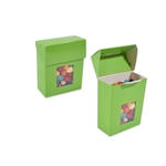 Small Foodie Flip Top Boxes Lime