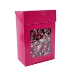 Large Foodie Flip Top Boxes Pink