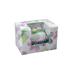 1/4 lb. Watercolor Daisy-Easter Egg Boxes