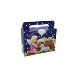 1/4 lb. Box Tote Nativity Scene