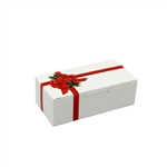 1/2 lb. Ribbon N' Holly 1 Piece Boxes