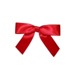 Red Twist Tie Bows