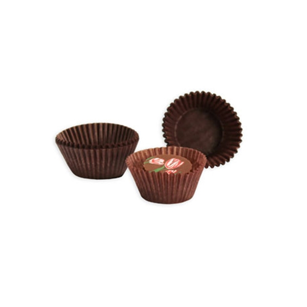 1 1 4 X 3 4 Brown Candy Cups