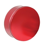 9-7/8 Round Sweet Red Tins