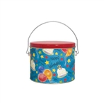 Half Gallon Popcorn Tin Pail - New Birthday