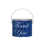 Half Gallon Popcorn Tin Pail - Thank You