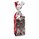 1 lb. 2.5 Mil Soft Bottom Cello Bags - Holiday Stockings