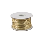 Gold Metallic Stretch Cord