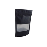 Small Black Zipper Pouches