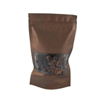 Medium Brown Zipper Pouches