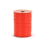 Imperial Red Matte Paper Wraphia ribbon