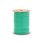 Kelly Green Matte Paper Wraphia ribbon