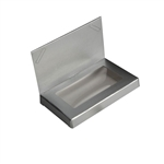 Silver Chocolate Business Card Boxes