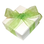 Organza Ribbon - Apple Green
