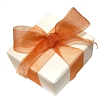 Organza Ribbon - Copper