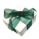 Organza Ribbon - Hunter Green
